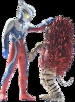 Ultraman Zero and Moroboshi kun