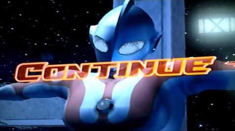 Ultraman dead at cross