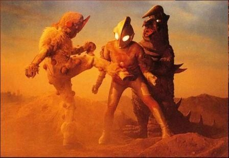 Ultraman Dies at Sunset