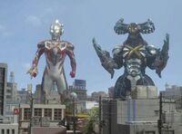 Ultraman X-Cyber Gomora Screenshot 008
