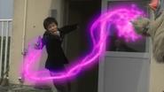 Alien Nackle Purple Lighting Shock
