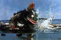 Gesura sinks the ship