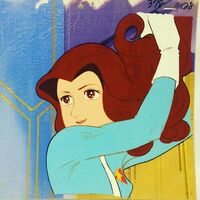 Mutsumi's hair