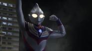 Tiga appears