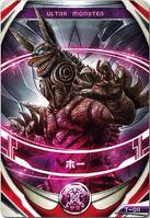 Ultraman Orb Hoe Kaiju Card