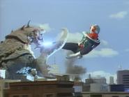 Sasori Gadoras vs Kamen Rider