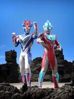 Ginga and Victory Knight