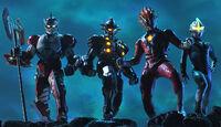 Glenfire,Mirror Knight,Jean-bot & Jean-nine help Zero