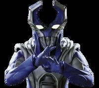Mega monster battle alien rayblood bust render by zer0stylinx-dazgwf9
