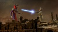 Tiga Blast vs Kamila
