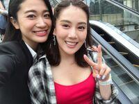 Chihiro with Mayu