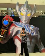 Yuya at Ultraman Festival 2019
