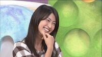 Hitomi smiles really cute