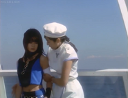Mayumi tried to convince Rucia