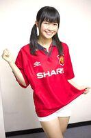 Haruka in football suit