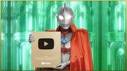 ウルトラマン公式ch登録者100万人達成記念「ありがとう」スペシャルメッセージ動画