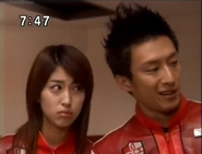 Mizuki ''jealous'' with Pigmon (Elly)