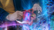 Ultraman and Belial inserted scan