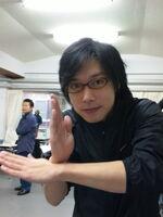 Takeshi in Kohsen stance