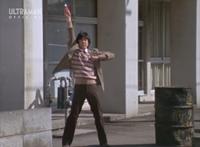 Takeshi transforms to 80 first time