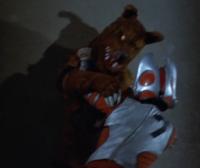 Gen fights werewolf