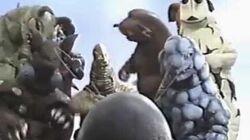 ウルトラマンタロウVSベロン ウルトラマンVSテレスドン 怪獣たちの面白動画-0