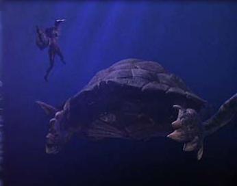 Giant Sea Turtle
