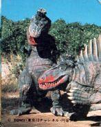 Dimetrodon and T-rex