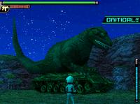 Dinosaur Tank Forest Camouflage