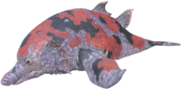 Ultraman Max Sea Monster render