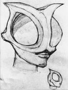 Alien Kannon concept