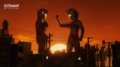 Ultraman Z - Ace salutes Z