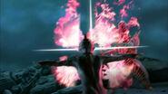 Mirror Knight & Deathrem attack at same time