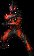 Ultraman Geed Darkness render 3