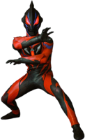 Ultraman Geed Darkness render 3