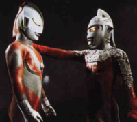Ultraseven and Jack in Return