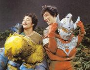 Suit actor of Taro and Kaiju