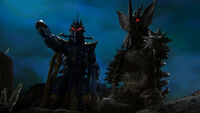 Alien Temperor & Tyrant as team Dark Terror