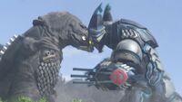 Ultraman X-Cyber Gomora and Zaragas Screenshot 001