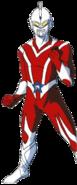 Ultraman Scott rendered