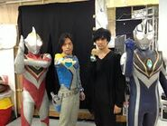 Takeshi with Gaia and Hassei with Agul