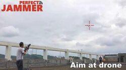 Gun Drone Countermeasure Test