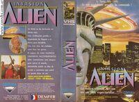 Ultraman The Alien Invasion VHS Argentina