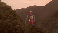 Tiga disappears after his mission