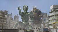 Ultraman X-Rudian and X Screenshot 001