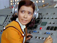 Akiko Fuji at the communications
