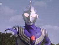 Tiga Sky in Ranbalt Light Bullet's stance