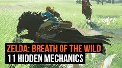11 hidden mechanics Zelda Breath of the Wild never tells you