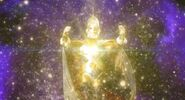 King Menyatu dengan Universe