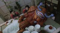 Guruman sleeping